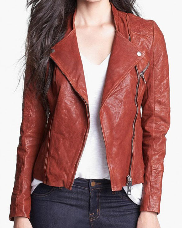 Dakota Johnson Fifty Shades Of Grey Brown Jacket - Get Custom Leather Jackets