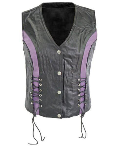 Super Cowhide Women Leather Vests - Get Custom Leather Jackets