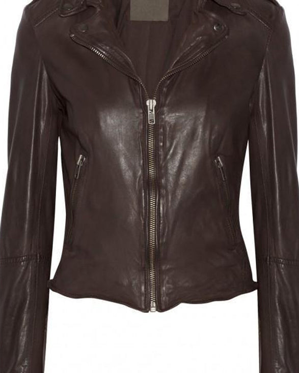 Super Vinera Women Biker Leather Jackets - Get Custom Leather Jackets