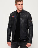 PRIME Endurance Road Trip Leather Jacket for Men - Get Custom Leather Jackets