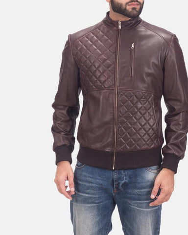 Leather Bomber Jacket - Get Custom Leather Jackets