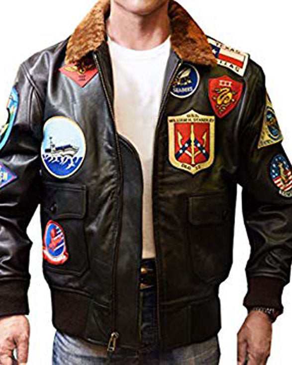 Tom Cruise Top Gun Leather Jacket - Get Custom Leather Jackets