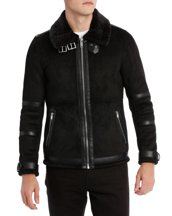 Camden Aviator Bomber - Get Custom Leather Jackets