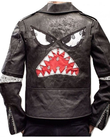 Daft Punk Instant Crush Shark Leather Jacket - Get Custom Leather Jackets