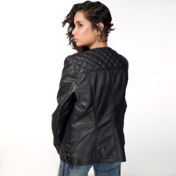 Hanso Black Leather Jacket - Get Custom Leather Jackets