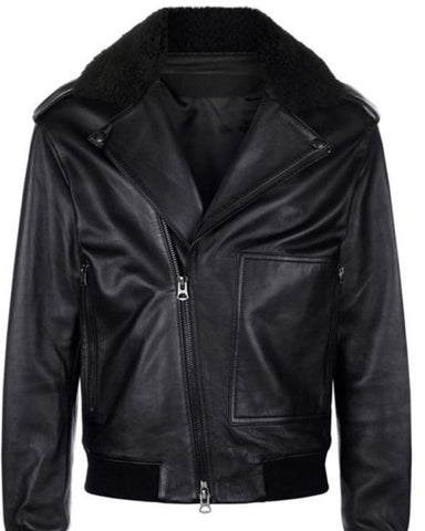 Top Black Leather Biker Jacket - Get Custom Leather Jackets