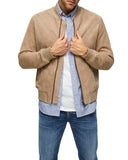 B-01 Bomber Suede Jacket - Get Custom Leather Jackets