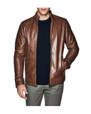 Chopper Luxe Biker Leather Jacket for Men - Get Custom Leather Jackets