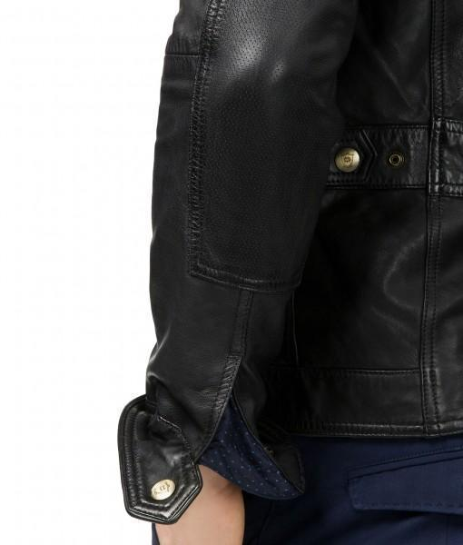 Super Bluster Men Biker Leather Jackets - Get Custom Leather Jackets