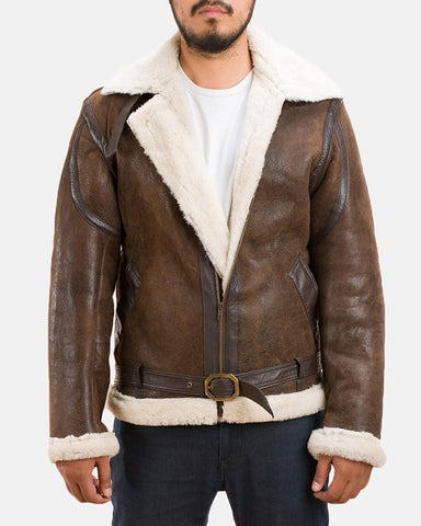 Shearling Jacket - Get Custom Leather Jackets