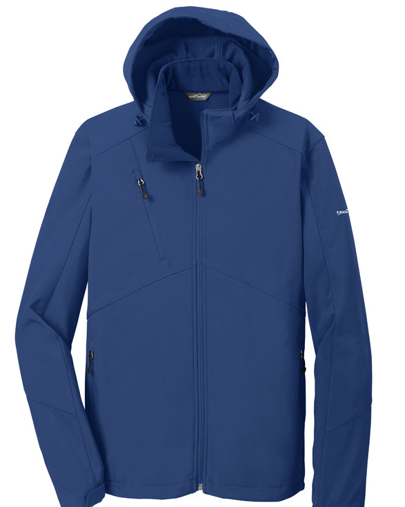 Eddie Bauer Mens Hooded Soft Shell Parka Mens - Get Custom Leather Jackets
