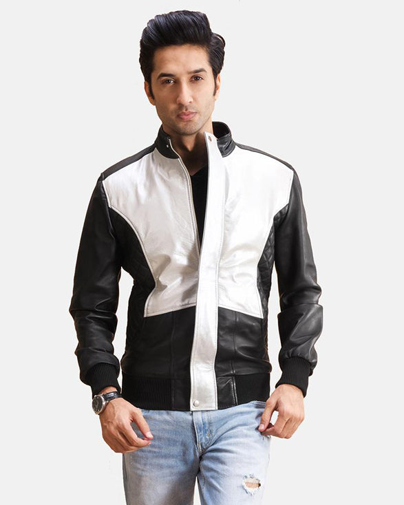 Black Leather Bomber Jacket - Get Custom Leather Jackets