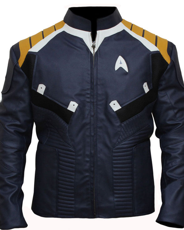 Captin Kirk Star Trek Jacket - Get Custom Leather Jackets