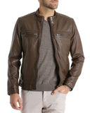 Whitby Leather Jacket - Get Custom Leather Jackets