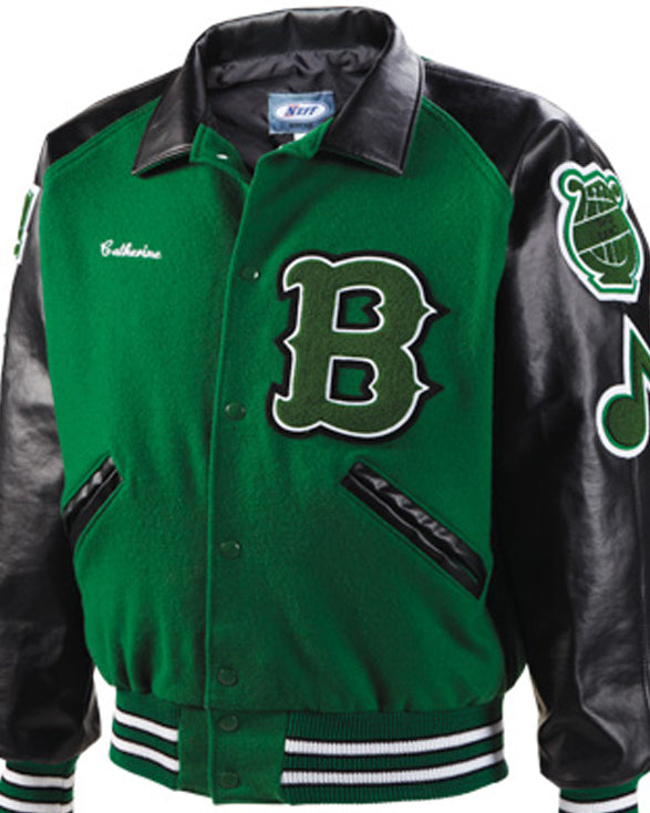 Cambridge Varsity Jacket - Get Custom Leather Jackets