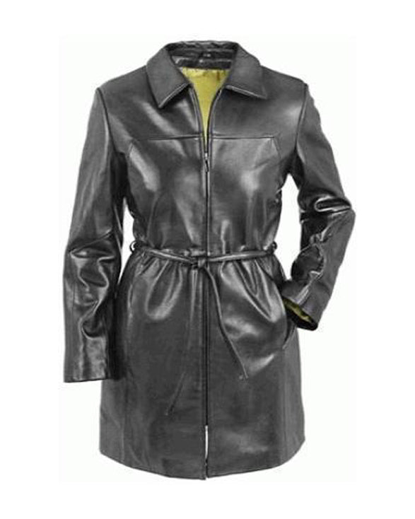 Super Fashioned Women Black Leather Coats - Get Custom Leather Jackets