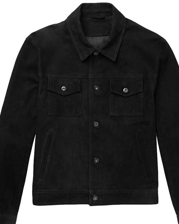 A.P.C. Bryan Suede Bomber Jacket - Get Custom Leather Jackets