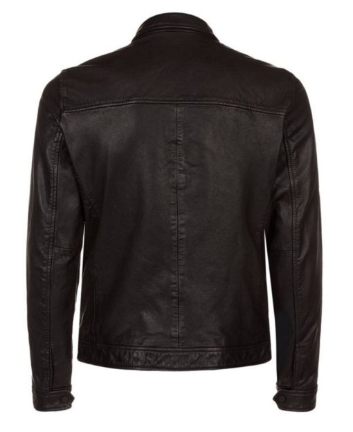 Bikerson Black Leather Jacket - Get Custom Leather Jackets