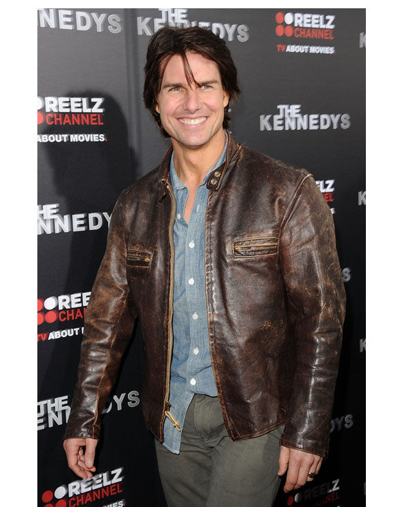 Tom Cruise Biker Jackets - Get Custom Leather Jackets