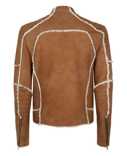 Vagos Brown Leather Jacket - Get Custom Leather Jackets