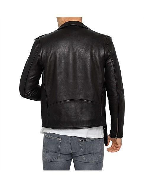 Classic Perfecto Pure Leather jacket for Men - Get Custom Leather Jackets