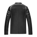 Luxury Genuine Sheepskin Leather Jacket for Men - Get Custom Leather Jackets