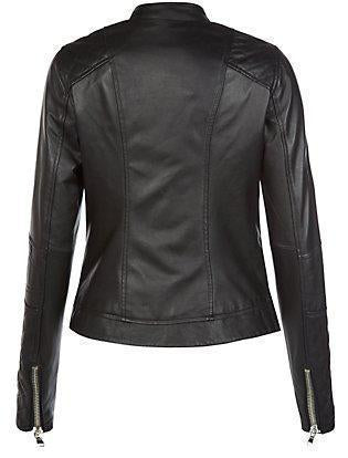 Super Studd Women Classic black Leather Jackets - Get Custom Leather Jackets