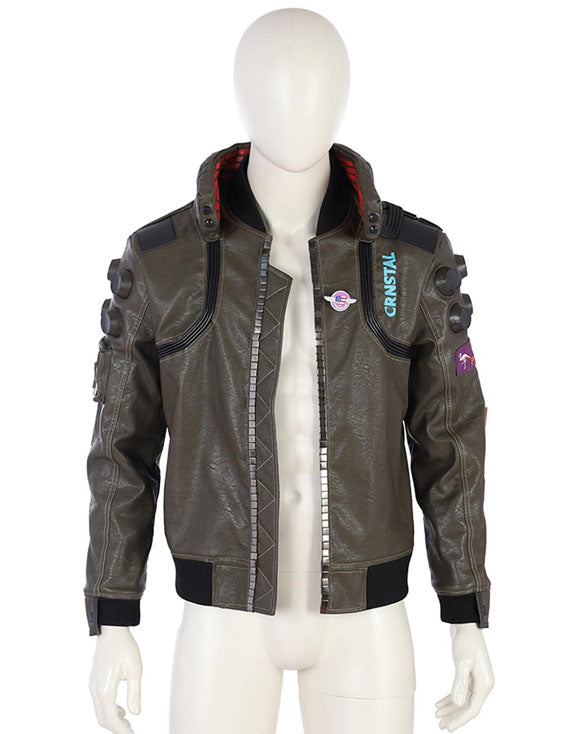 Samurai Cyberpunk 2077 Leather Jacket - Get Custom Leather Jackets