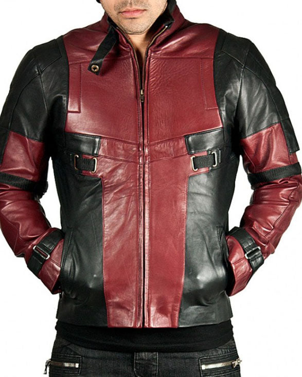 Deadpol Jacket - Get Custom Leather Jackets