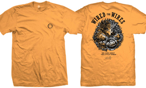 WIRED for WIRES - Benefit T-Shirt