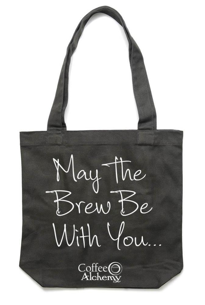 May The Brew Be With You - Tote Bag