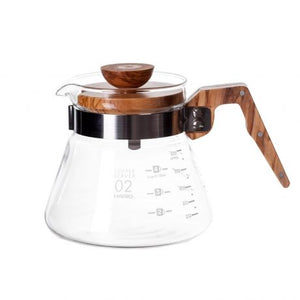 Hario olive wood range server 400ml
