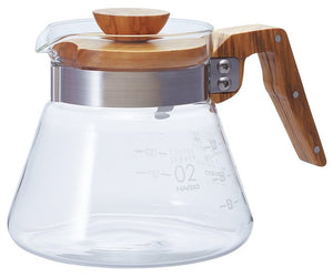 Hario olive wood range server 600ml