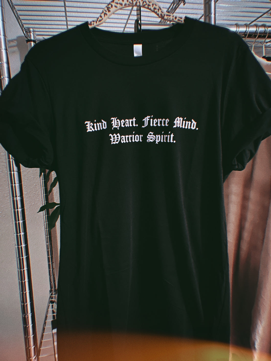 Warrior Spirit Black Tee