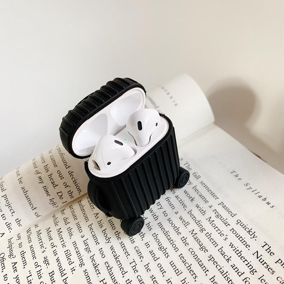 Luggage box cover Bluetooth headset