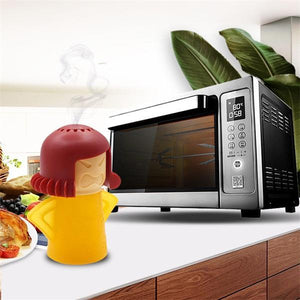 Angry Mama Microwave Oven Steam Cleaner(4 Packs)