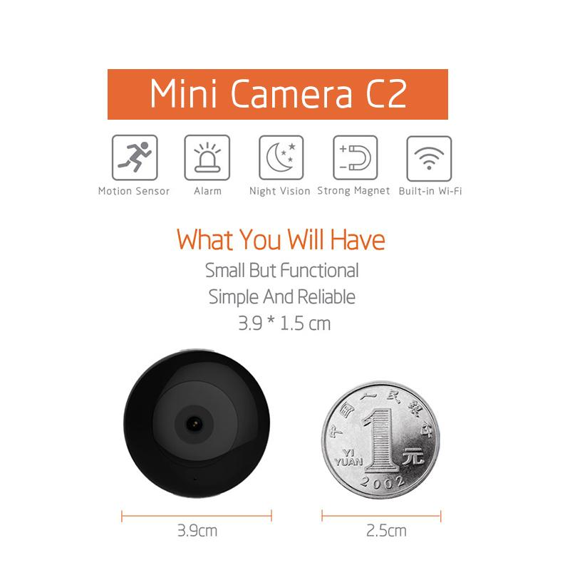 Magnetic Smart 1080p Mini WiFi Camera