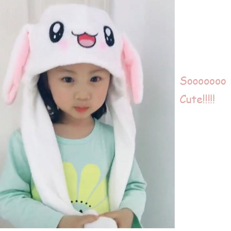 Ultimate Cute Rabbit Hat With Controllable Moving Ear