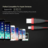 High-Tensile Nylon Lightning to USB Apple Device Cable