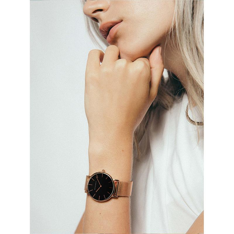 Simple No Second Wrist Watch