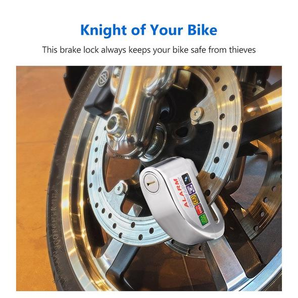 Motorcycle Alarm Disc Lock