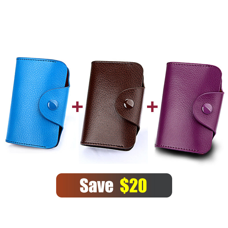Simple Fashion Organ Card Package / Wallet - 13 Card Position