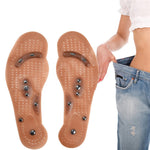 Magnetic Therapy Slimming Insoles for Weight Loss Foot Massage Health and Beauty Shoes Doormat