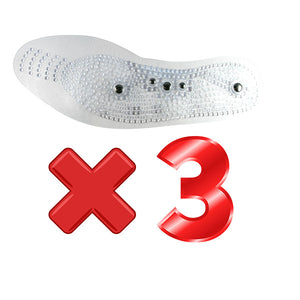 Transparent Magnet Massage Insole
