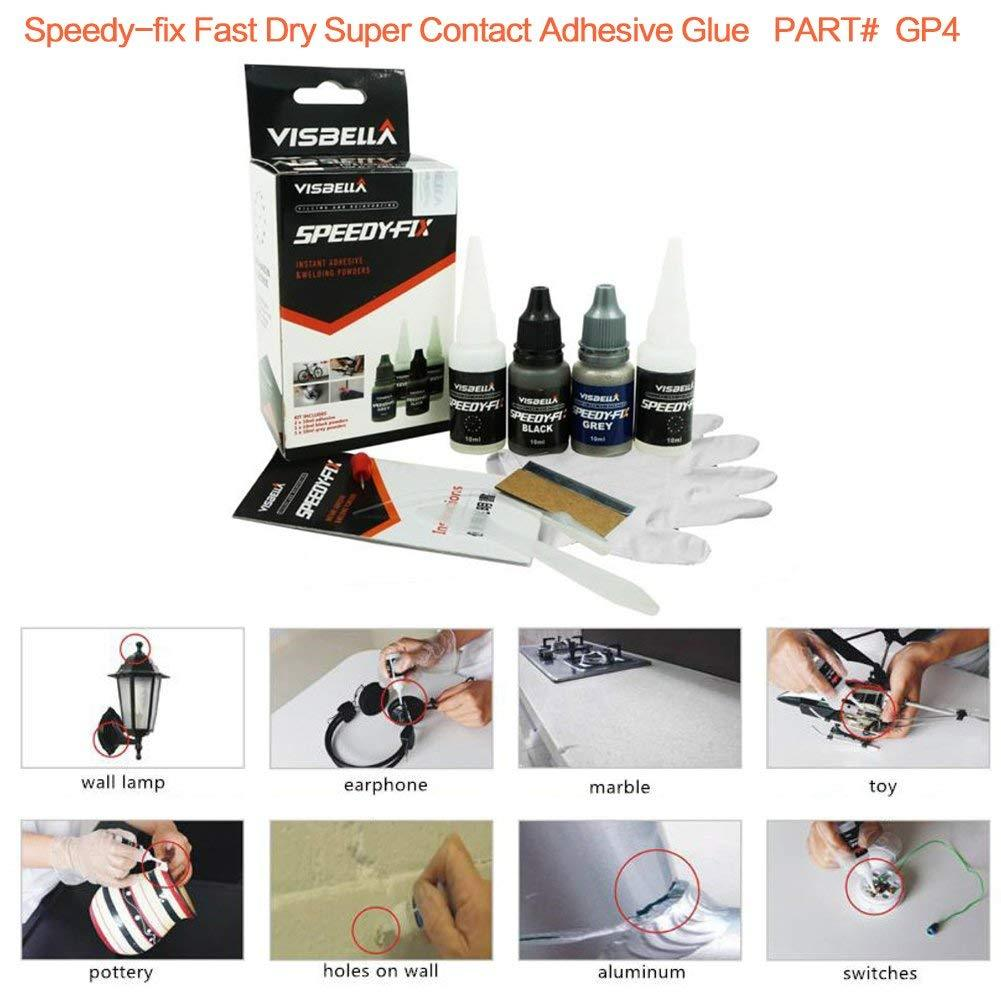 Fast Dry Super Contact Adhesive Glue ( 1Set=2 Pcs )