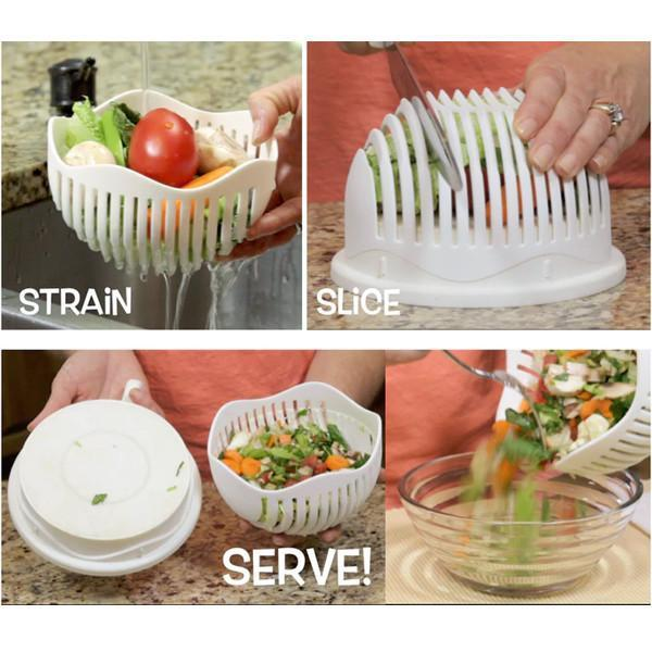 The Amazing 5 Seconds Salad Cutter