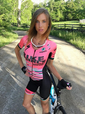 Onesies Pink and Black Reduce Aerodynamic Drag Cycling Jersey
