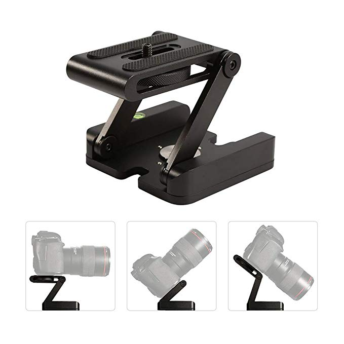 Folding slide digital camera base