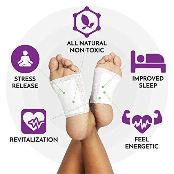 Premium Detox Foot Pads (Set of 10pcs)