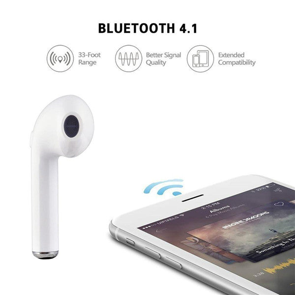 HBQ i7S Single Wireless Earphones